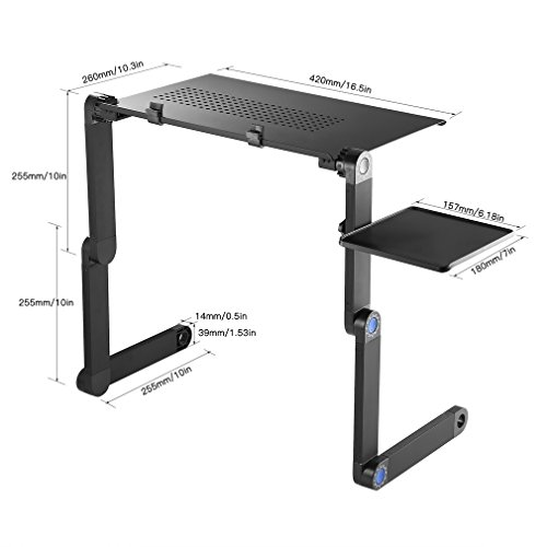 De Lit Table Alliage Aluminium Pliable Kiss En U If76vYbgy