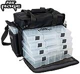 Fox Rage Stacker large 45x24x26cm - Angeltasche für Kunstköder, Tackletasche für Gummifische &...