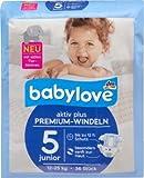 babylove Windeln Premium aktiv plus Größe 5, junior 12-25kg, 1 x 36 St