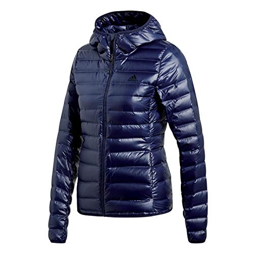 adidas Terrex Damen Daunenjacke Varilite Down Hooded Jacket Legend Ink XS