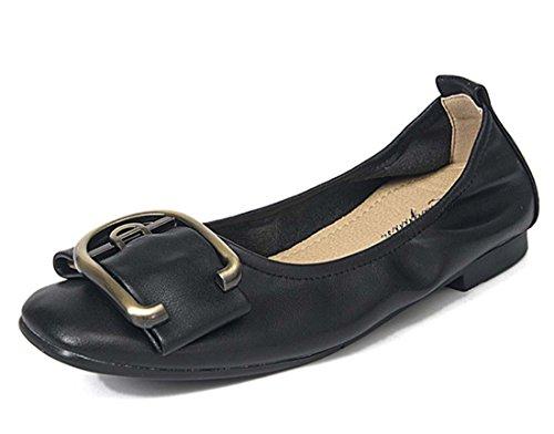 Scarpe Di Lavoro Comode Da Scarpe Da Lavoro A Scomparto Nero Da Donna Delle Scarpe Da Scuola Dolly Ballet School Black