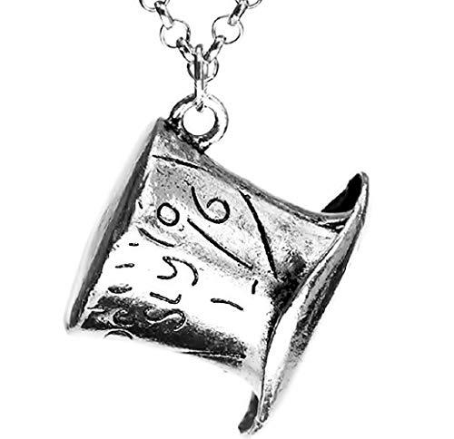 Inception Pro Infinite Halskette Mad Hatter Alice im Wunderland für Mann und Frau und Mädchen