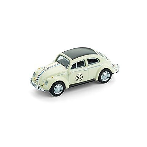 Modellauto mit Magnet für Kühlschrank und Pinnwand – Kultauto – VW Käfer Rallye