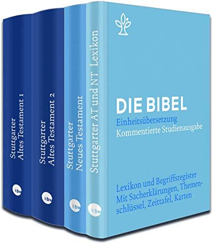 Stuttgarter Altes + Neues Testament + Lexikon im Paket: Kommentierte Studienausgabe. Die Bibel, revidierte Einheitsübersetzung 2017.