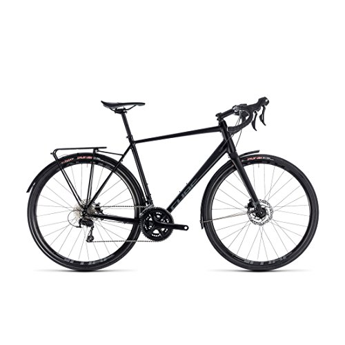 GRAVEL Bike Cube nuroad EXC black' N 'Grey 2018 – 53 cm (Cube Tapered)