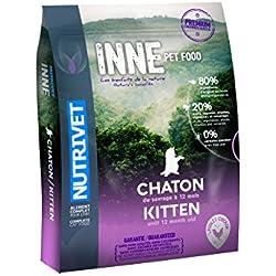 Nutrivet Inne Poulet Jusqu'à 12 Mois pour Chaton Sac de 6 Kg