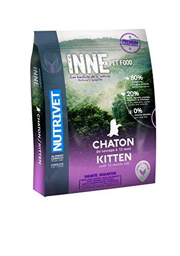 Nutrivet Inne Poulet Jusqu'à 12 Mois pour Chaton Sac de 1,5 Kg