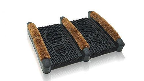 Intra Schuhabtreter Bison 39x32cm Fußabtreter Kokosfußabtreter Fußmatte