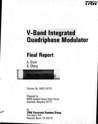 V-band integrated quadriphase modulator (English Edition) A/v-modulator