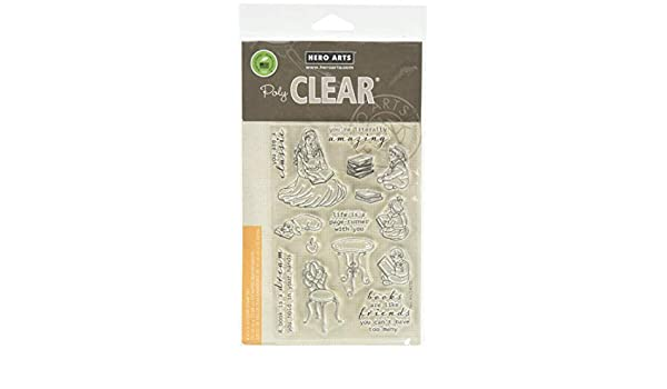 Hero Arts CM232 Story Time Clear Stamps Multicolor