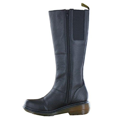 Dr Martens Moll Viola Femme Boots Noir Noir