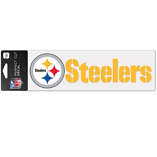 Wincraft Aufkleber 8x25cm - NFL Pittsburgh Steelers
