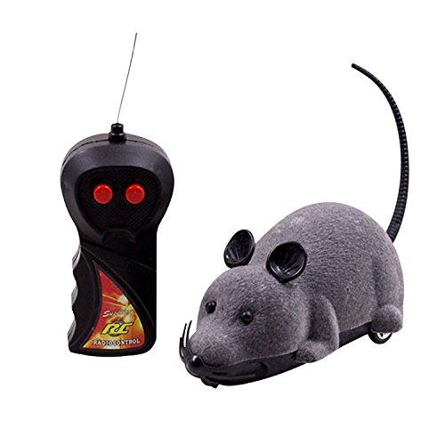 Boodtag Mini Remote Control Maus Fernbedienung Spielzeug Mäuse Maus-Spielzeug für Hunde Katze Kinder