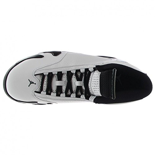 Nike Herren Air Jordan 14 Retro Basketballschuhe White/Black/Green/Legend Blue