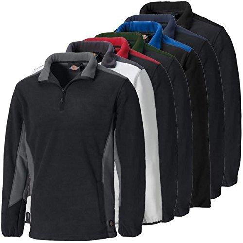 Dickies Fleece-Pullover »Two Tone Micro Fleece« caqui/negro
