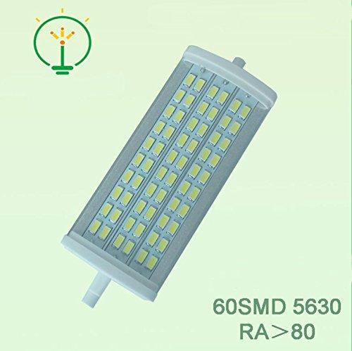 LOZLL LED R7S 5730 16W lampada in alluminio, luci orizzontale Plug evidenziare 135 millimetri R7S , is white , 16