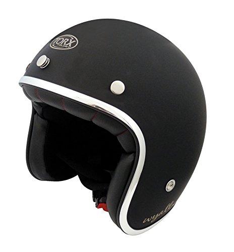 TORX Casco Moto Wyatt Matt negro,XL
