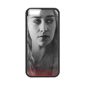 Daenerys Targaryen Game Of Thrones Tv Show iPhone 6 Plus 5.5 Inch Cell Phone Case Black EPM6577319499886