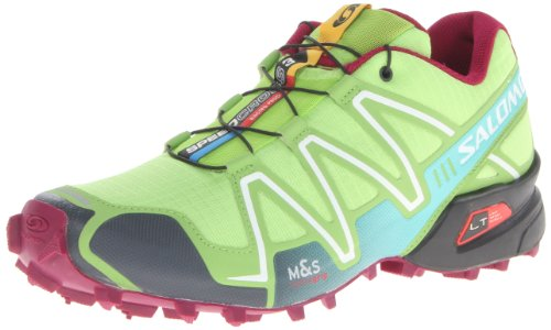 Salomon - Zapatillas para correr en montaña para mujer verde firerfly green/green bean/Mystic purple Einheitsgröße, color verde, talla EU 36 2/3 (UK 4)