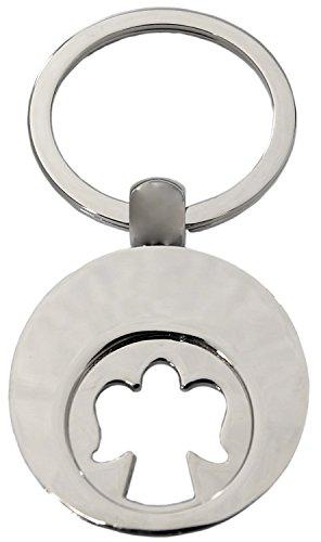 Preisvergleich Produktbild Kaltner Präsente Engel Schlüsselanhänger Anhänger mit Chip für den Einkaufswagen
