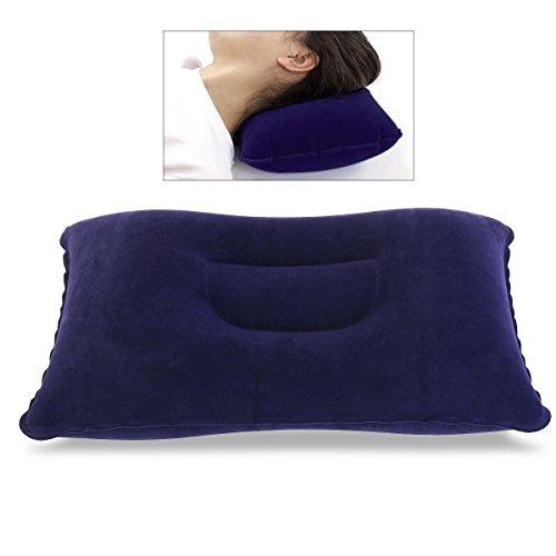 Nuolux cuscino gonfiabile, cuscini da campeggio, cuscino da viaggio portatile per attività all'aperto (blu scuro)