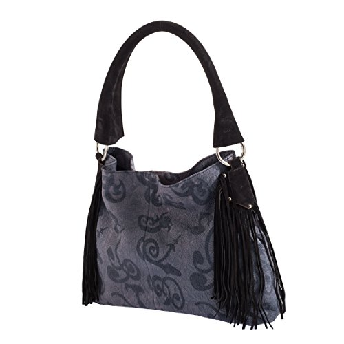 Tilla...Le Borse , sac bandoulière femme fiore blu