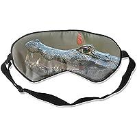 Schlafmaske aus Seide, für Damen und Herren, ultimative Schlafhilfe für Reisen und Nachtruhe (Tier-Krokodil) preisvergleich bei billige-tabletten.eu