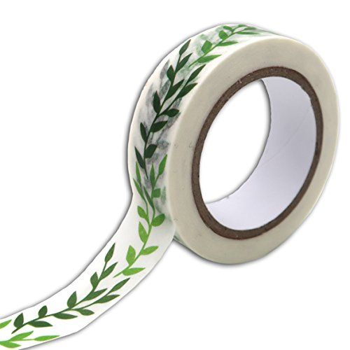 Unbekannt Toga Oh My Green Washi, Washi Tape, grün, 5x 6,5x 1,5cm