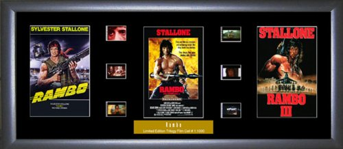 Rambo - Film Cell Trilogy Ein Film Cell