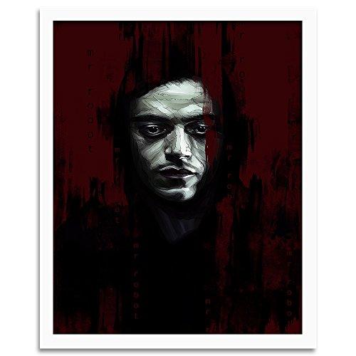 Feeby. Tableau encadré, Tableau Déco, Tableau Mural, Décoration Murale Image Imprimée, 1 Partie - 40x60 cm, Dmitry Belov - Film Noir