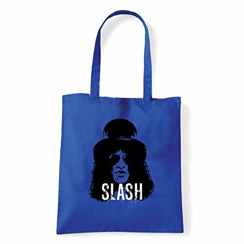 Art T-shirt, Borsa Shoulder Slash, Shopper, Mare Blu