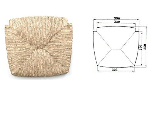 Fondo fondino fondello telaio seduta in paglia per sedia ricambio sedile mod.venezia