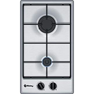 Balay 3ETX332MB Integrado Encimera de gas Acero inoxidable hobs – Placa (Integrado, Encimera de gas, Acero inoxidable, Acero inoxidable, 1000 W, 3000 W)