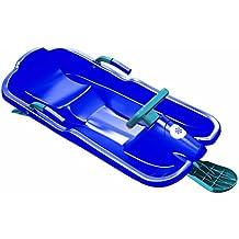Trineo Plastkon trineos orientables Skibob, azules, 41107631