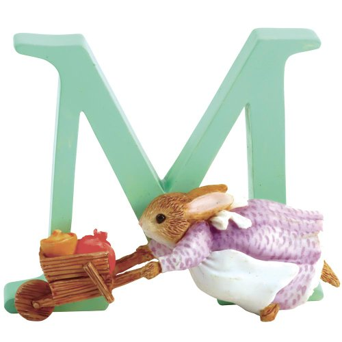 Beatrix Potter - Letter M with figure of Cecilia Parsley