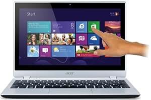 Acer Aspire V5-122P 29,4 cm (11,6 Zoll) Mini-Book (AMD Dual-Core Prozessor, 4GB RAM, 500 GB HDD, Radeon HD8210, Win8, Touchscreen, IPS Display) Silber