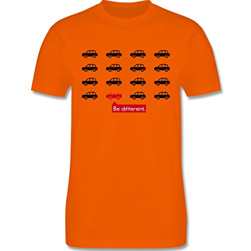Cabrio - Herren Premium T-Shirt Orange