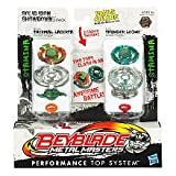 BeyBlade Metal Masters Solid Iron Showdown 2-Pack Thermal Lacerta - Thunder Leone