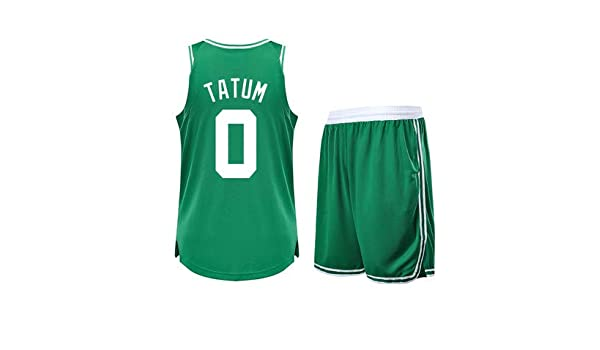 lowest price a4199 818ad Li Kun Peng Jayson Tatum NO.0 Boston Celtics Sweat Absorbing ...