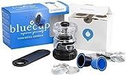 Bluecup cápsula Reutilizable Nespresso, Cápsulas Recargables compatibles con Nespresso Cafeteras