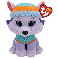 Ty- Pat' Patrouille Small-Everest Peluche, TY41300, Multicolore