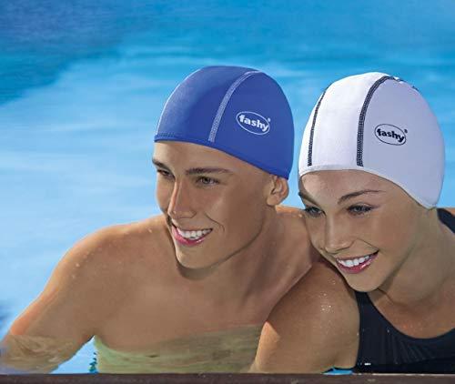 Fashy Unisex Erwachsenen Thermo-Schwimmkappe, Schwarz