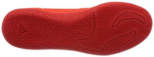 adidas X 16.3 In, Entraînement de football homme Rouge (Solar Red/Silver Metallic/Hi-Reset Red)
