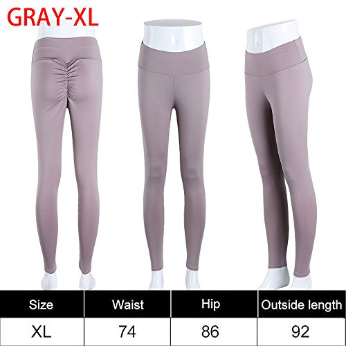 Ruan Sexy Laufen Fitness-Studio High Taillen-Butt-Lift Hip-Push Fitness-Leggings Sport Hosen Yoga-Hose