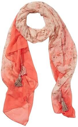 PIECES Damen Schal SIGRID LONG SCARF, Geblümt, Gr. One size, Rosa (Pale Pink)