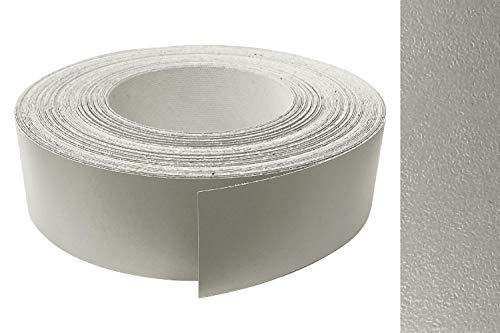 Kantenumleimer Melamin 45mm x 5m mit Schmelzkleber in Aluminium Titan perl Dekor