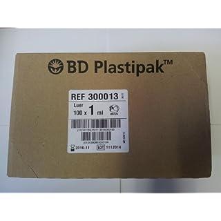 1ML BD PLASTIPAK SYRINGE 300013 PK10