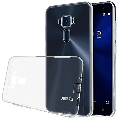 Craftech Soft Back Cover for Asus ZenFone 3 ZE520KL, 5.2(Transparent)