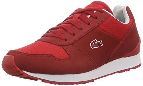 Lacoste L!ve, Trajet, Sneakers da Donna, Rosso (red), 37