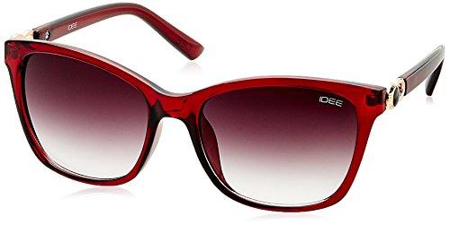 IDEE Gradient Square Women's Sunglasses - (IDS2083C3SG|55|Smoke Gradient lens) image